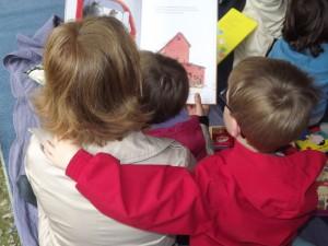 Lectures les lundis des vacances scolaires sur le marché de Questembert